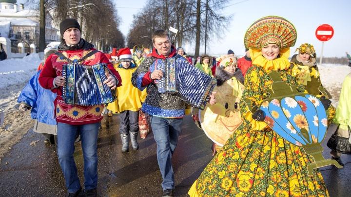 Гулять будем восемь дней: полная программа Масленицы в Ярославле