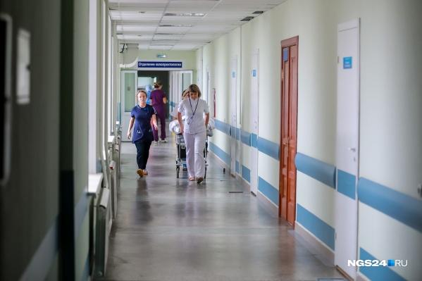 Решается вопрос о транспортировке пострадавшей в Красноярск, но только после того, как состояние стабилизируется