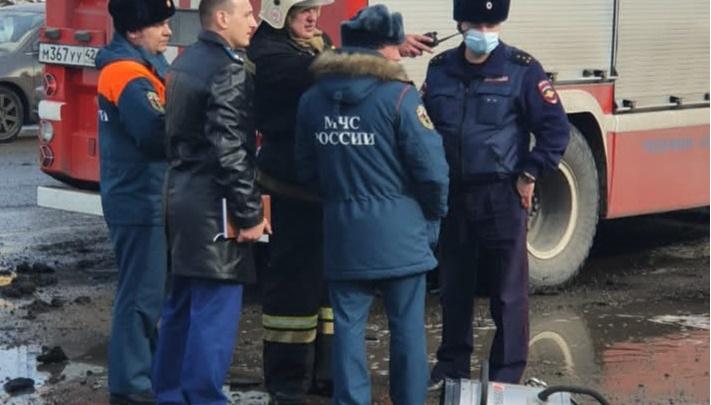 Следком возбудил уголовное дело после взрыва заправки в Новокузнецке