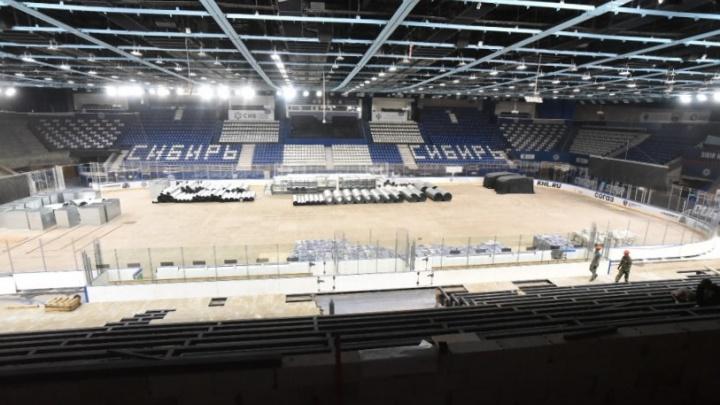 Изменится до неузнаваемости: после ремонта на ЛДС «Сибирь» смогут проводить международные матчи