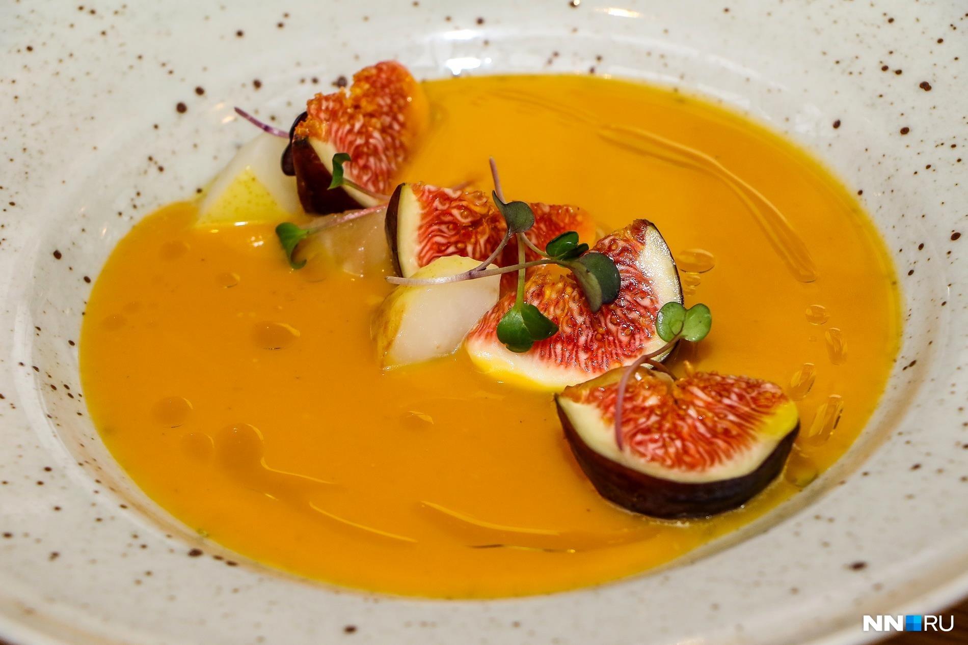 Блюда из тыквы получаются не только полезными, но и очень красивыми