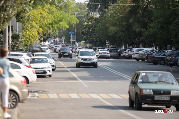 На некоторых улицах сложности с проездом будут до конца года