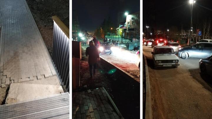«Маникюр с грязью под ногтями»: общественники опубликовали новые фото смотровой площадки на сопке