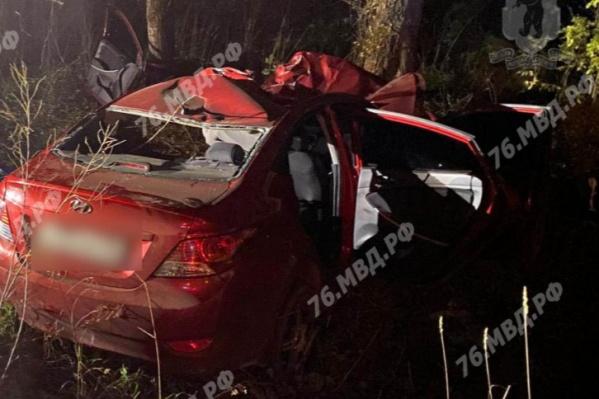 Под Ярославлем в ДТП с лосем погиб водитель