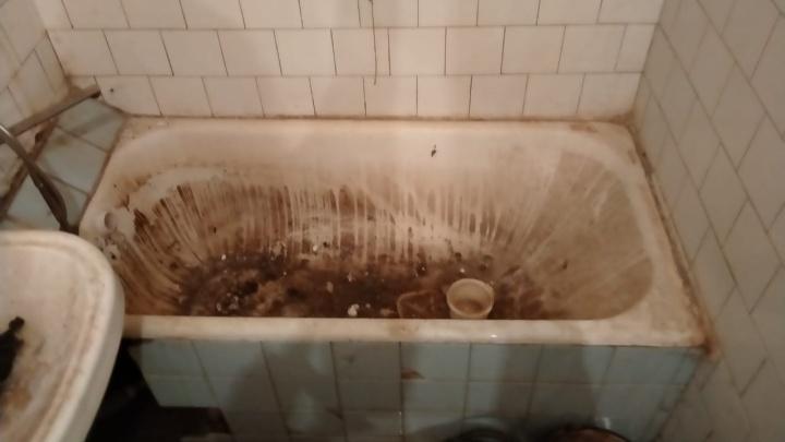«Нас уже откровенно посылают»: жители двухэтажки в Дзержинском районе месяц живут в болоте из фекалий