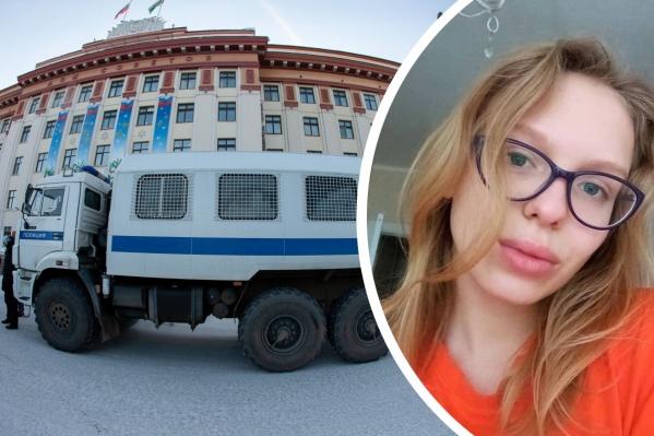 Девушка сама связалась с журналистами 72.RU, испугавшись людей, которые ее задержали
