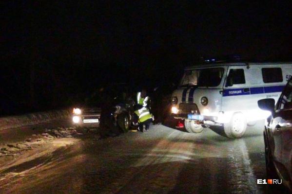 Смертельная авария произошла на первом километре дорогиСеров— поселок ГРЭС