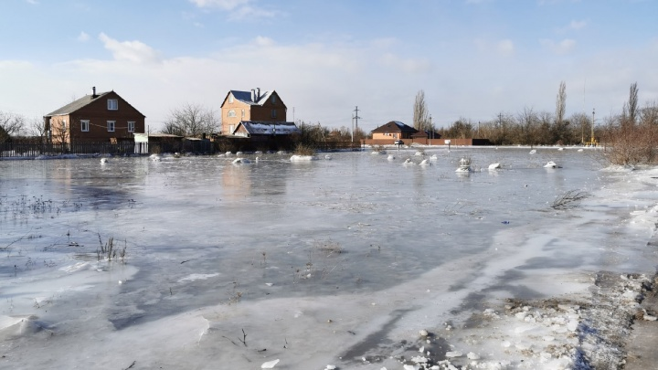 «Как на работу ехать — не знаем»: в Азовском районе затопило целую станицу