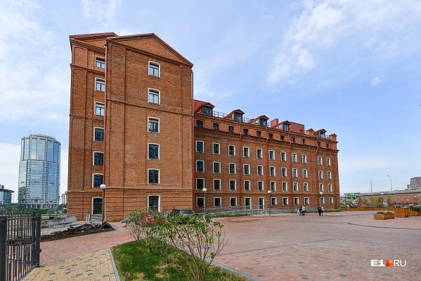 Весной «УГМК-Застройщик» ввел в эксплуатацию здание Симановской мельницы, к концу года сюда заедут первые жильцы