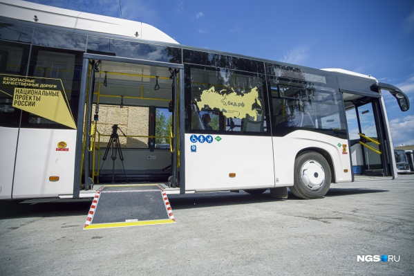 Новые автобусы получило предприятие ПАТП-4
