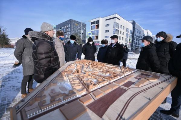 Вице-премьер правительства России Марат Хуснуллин побывал в Солнечном