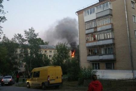 В Челябинской области из общежития во время пожара эвакуировали больше 40 человек