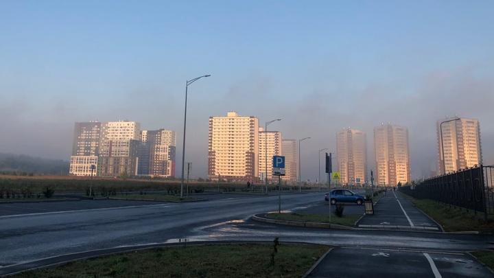 Природные пожары и запах гари прекратятся в Тюмени только после ливней