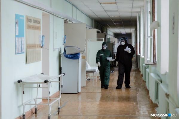 Ковид-госпиталь остается на площадях легочно-аллергологического корпуса