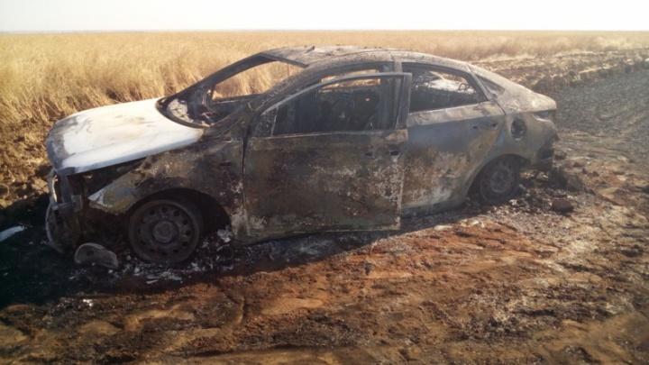 В Волгоградской области из-за выхлопных газов сгорел урожай на 260 тысяч рублей
