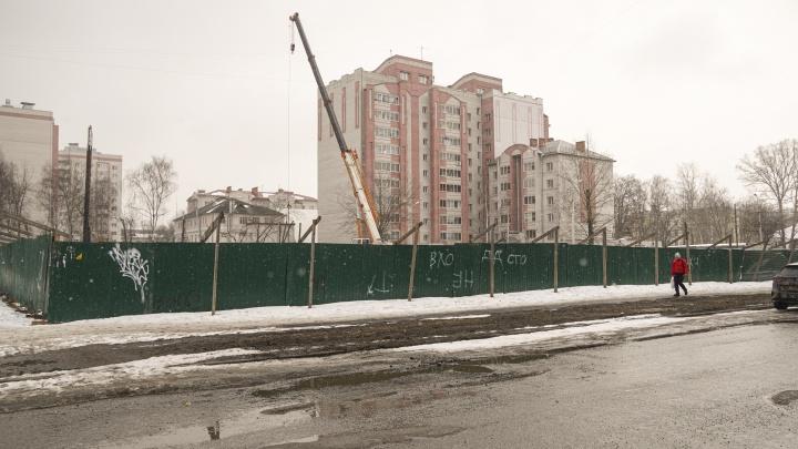 «Жаль Пятёрку»: ярославцы раскусили планы застройщика о 17-этажной гостинице на районе