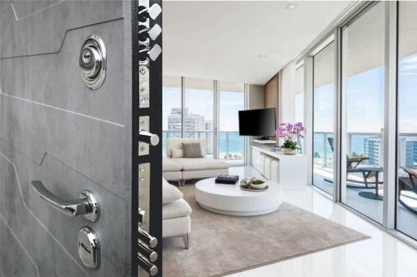 Двери серии ЛЮКС ПРО имеют высший класс по взломостойкости и прочности