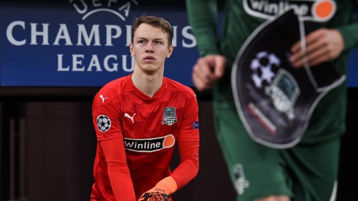 Голкипер «Краснодара» Сафонов дебютировал в матче сборной России и не пропустил