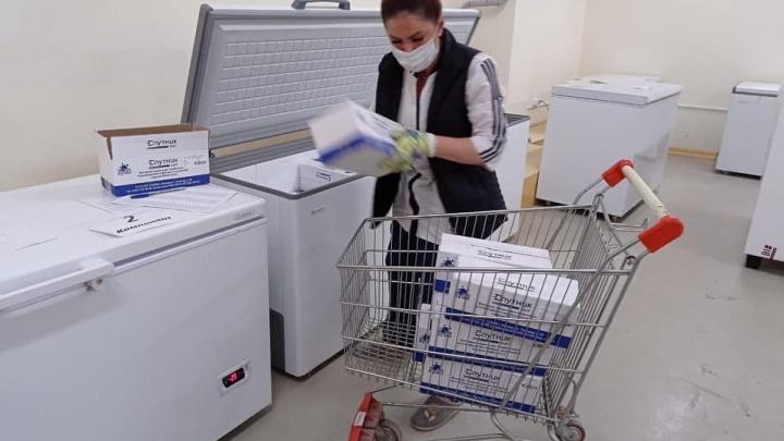 В Свердловскую область привезли рекордную партию вакцины от коронавируса