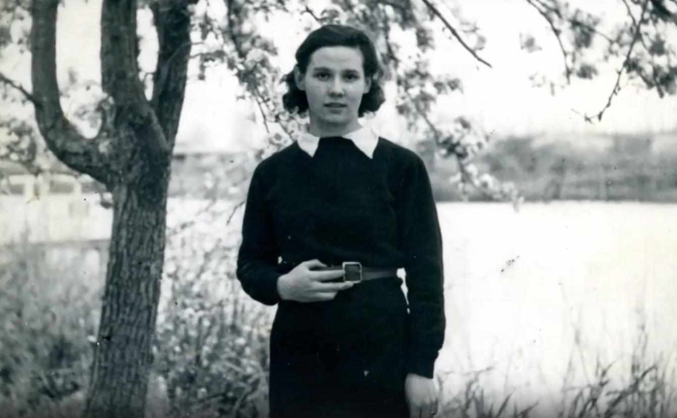 Ольга Грекова после окончания школы