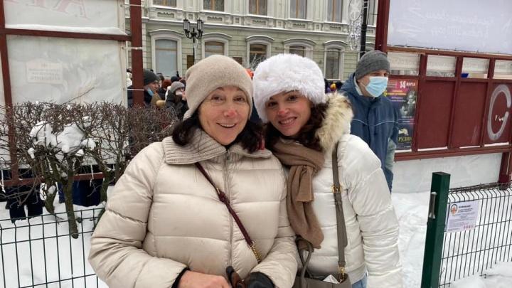 Жанна Немцова рассказала NN.RU, почему пришла на митинг в защиту Навального в Нижнем Новгороде