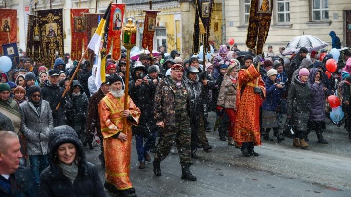 Митрополит раскрыл, будет ли в Екатеринбурге массовый крестный ход и где пройдут службы на Пасху