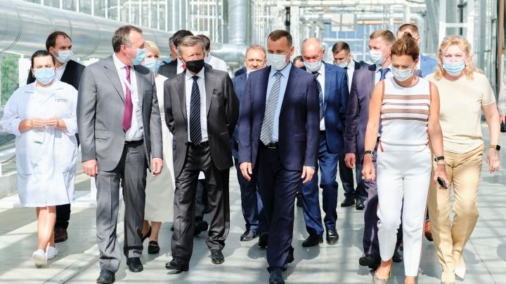 Агрохолдинг «Чурилово» презентовал первый в Курганской области тепличный комплекс «Мартыновский»