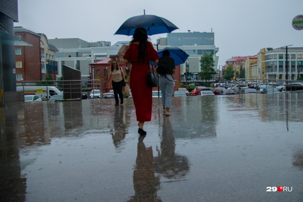 Кажется, выйти из дома без зонтика опять было ошибкой. Вы ее сделали?