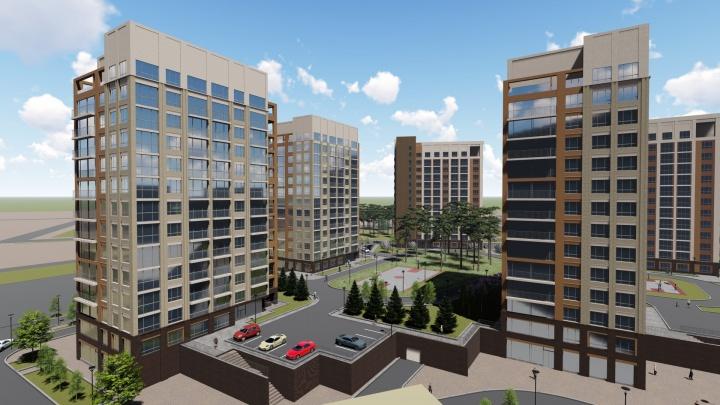 Высший пилотаж: в Новосибирске начали строительство огромного жилого комплекса бизнес-класса