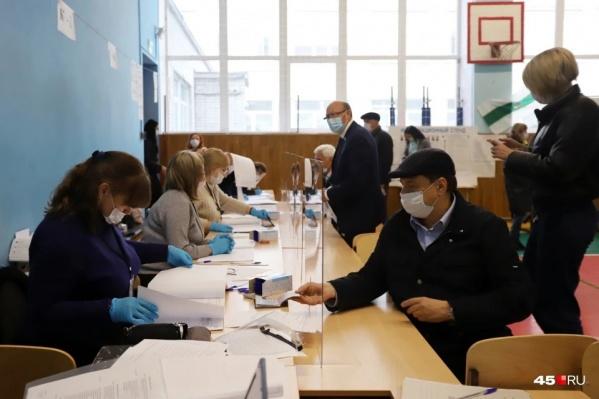 В Курганской области открыли 949 избирательных участков