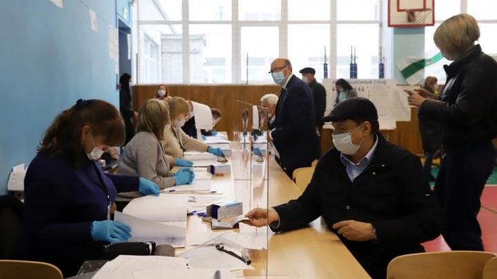 В Курганской области начался основной день голосования на выборах депутатов Госдумы