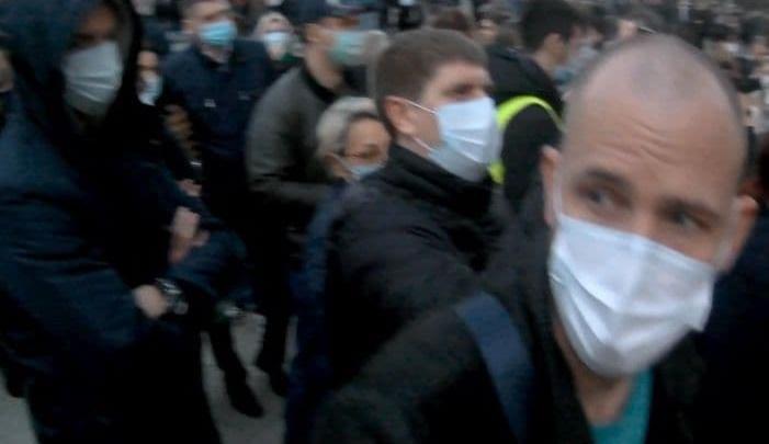 Избитый в Краснодаре майор полиции выслеживал митингующих в поддержку Навального. Что узнал 93.RU