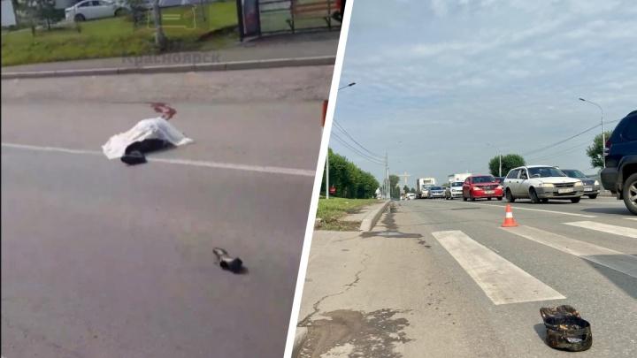Водитель «Субару-Легаси» насмерть сбил пешехода на пешеходном переходе на Калинина