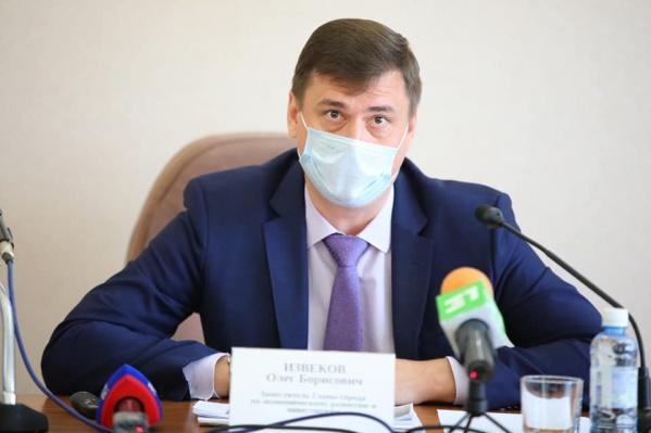 Олег Извеков сейчас на допросе