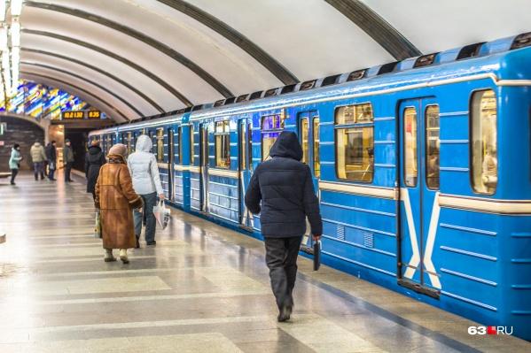 Сейчас в Самаре всего одна ветка и 10 станций