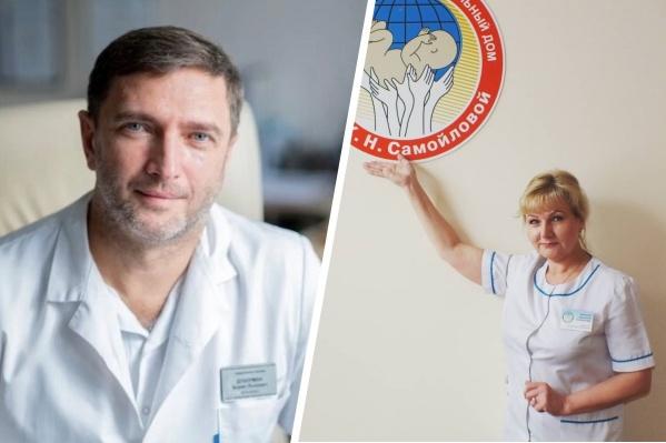 Хирург Борис Дуберман и врач-акушер Наталия Лобанова