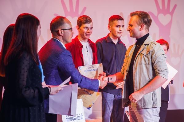 Студентов награждали в 7 номинациях