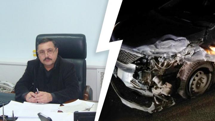 В Челябинской области глава поселения, пьяным устроивший ДТП с пострадавшим, подал в отставку
