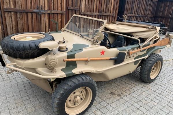 Ретроавтомобиль продает житель Тюмени