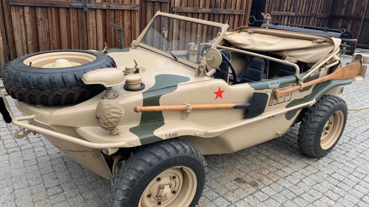 В Тюмени за 12 миллионов продают немецкий автомобиль-амфибию времен Второй мировой