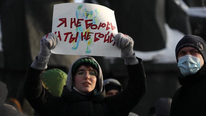 Кто выходит на протестные акции в Новосибирске— дети или взрослые? Конфликтолог— о социологии митингов