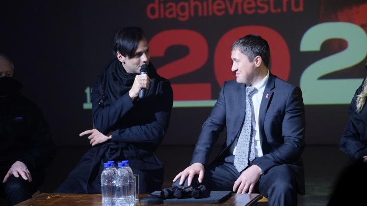 В Перми начинается Дягилевский фестиваль. Теодор Курентзис ответил на вопросы журналистов и поклонников театра