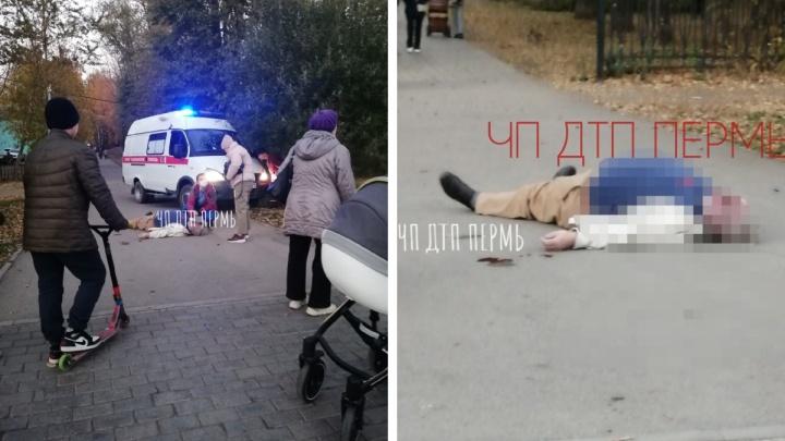 В Сквере Миндовского в Перми умер мужчина