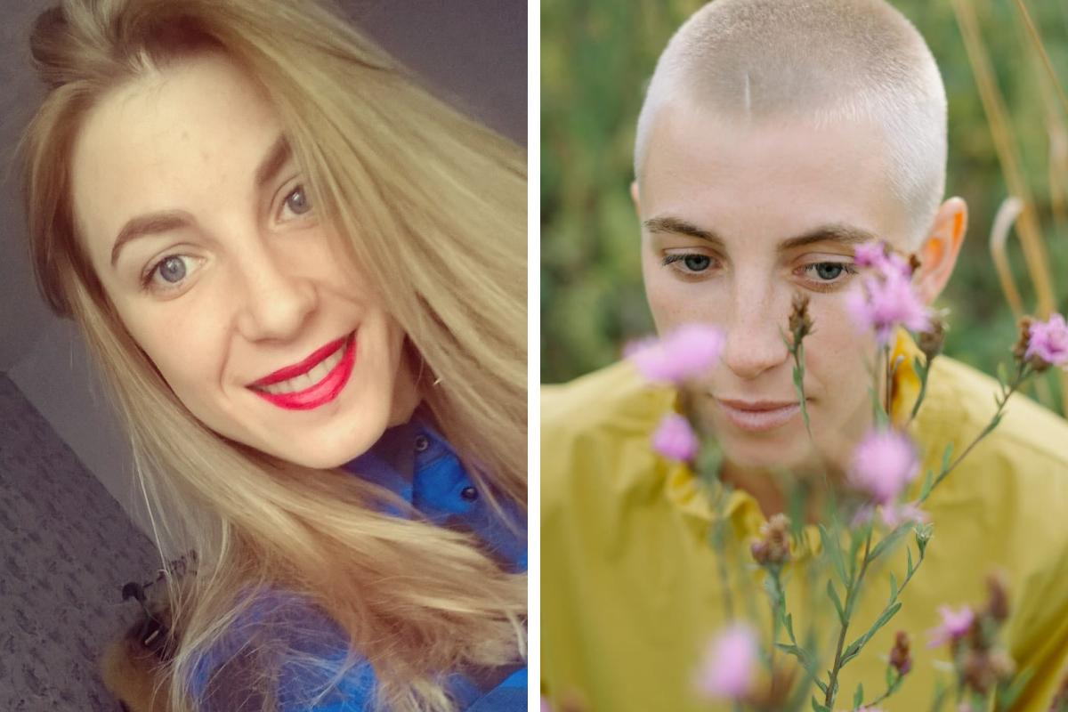 Виктория говорит, что ей не было жалко волосы, ей было страшно не принять новую себя