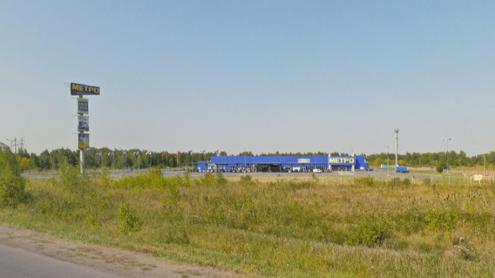 Мэрия Омска выставила на торги недостроенный торговый центр за Metro