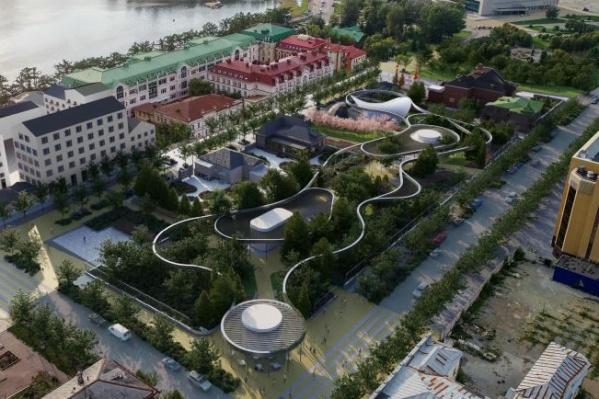 Пролетарская улица, согласно концепции, превратится в бульвар, а Царская станет однополосной и с парковкой