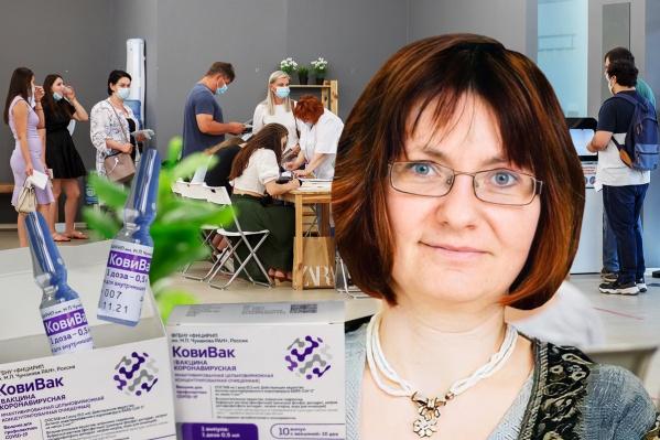 Анча Баранова рассказала об ошибочных прогнозах, вакцинации в США и России, а также о побочных эффектах от прививок