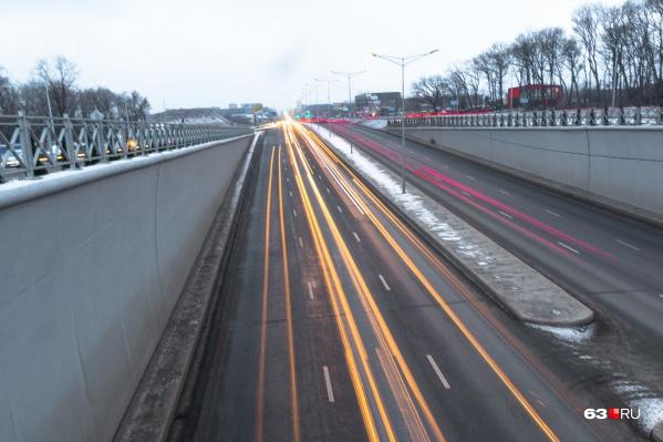 Во время последней реконструкции на Московском шоссе построили тоннели
