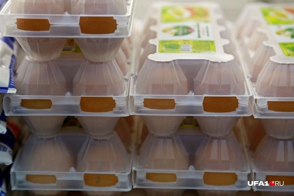 Яйца подорожали на 8 рублей