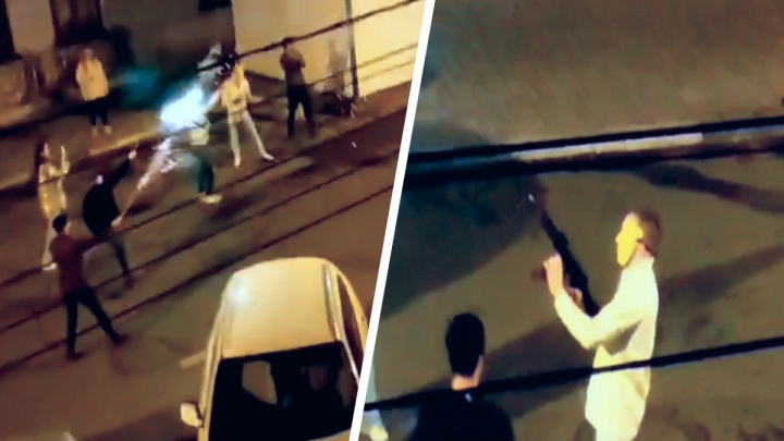 «Собирали гильзы с дороги»: ночная перестрелка у самарской кирхи попала на видео